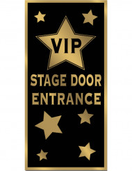 Decoração de porta VIP
