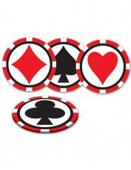 Bases para copos Casino