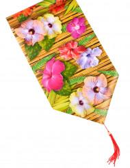Caminho de mesa Flores de Hibisco