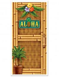 Decoração de porta Havaiana