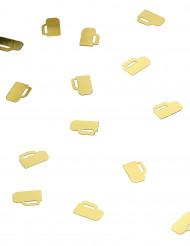 Confettis canecas de cerveja