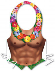 Avental de plástico homem Havaí