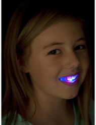 Dentadura luminosa com LED