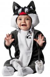 Disfarce Frajola™ Looney Tunes™ bebé