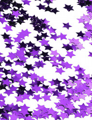 Confetes estrelas violetas