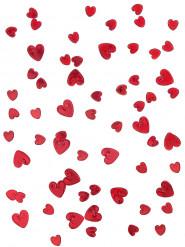 Confetis corações rubi 14 gr