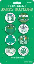 Crachás humorísticos irlandeses São Patrício