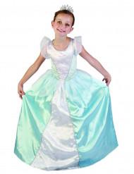 Disfarce princesa azul menina