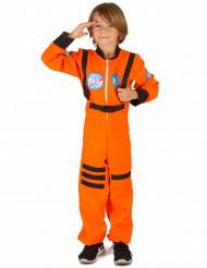 Disfarce astronauta rapaz