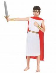 Disfarce romano rapaz