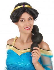 Peruca princesa oriental mulher