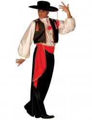 Disfarce de dançarino mexicano para adulto