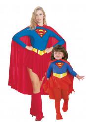 Disfarce casal supergirl para mãe e filha