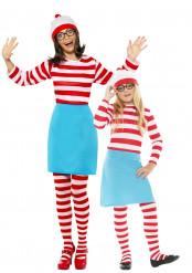 Disfarce casal Wally para mãe e filha