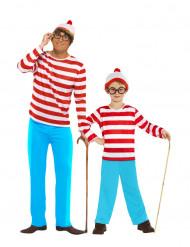 Disfarce casal Wally™ pai e filho