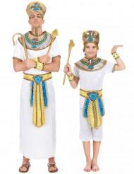 Disfarce casal rei egípcio pai e filho