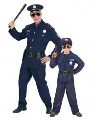 Disfarce casal polícia pai e filho