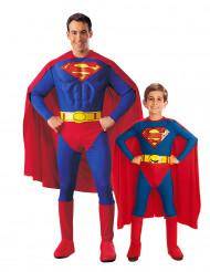Disfarce casal Superman™ pai e filho