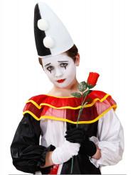 Chapéu de Pierrot criança