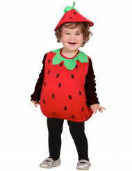 Disfarce de morango para menina