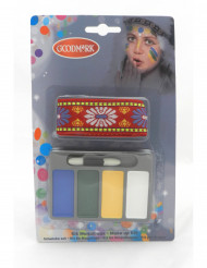 Mini kit de maquilhagem índio