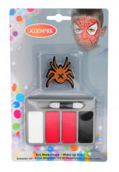 Mini kit de maquilhagem aranha criança Halloween