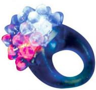 Anel mágico com LED azul