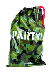 6 Sacos de festa camuflagem