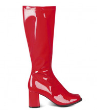 Botas vermelha mulher