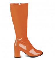 Botas Cor-de-laranja mulher