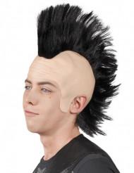Peruca crista punk homem
