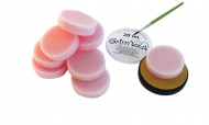 10 esponjas de maquiagem 1,5 cm