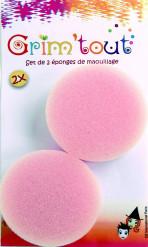 Set de 2 esponjas de maquilhagem Grim