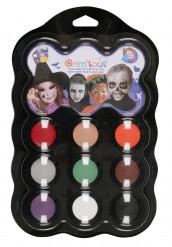 Palete Maquilhagem Halloween Grim tout