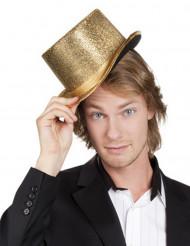 Cartola dourado adulto