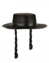 Chapéu rabino adulto