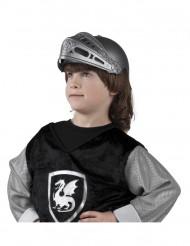 Capacete cavaleiro medieval criança