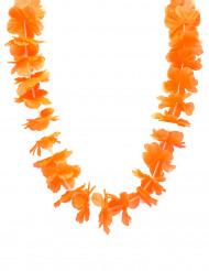 Colar havai cor de laranja