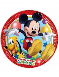 8 Pratos de cartão Mickey Mouse™