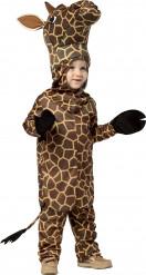 Disfarce girafa para criança