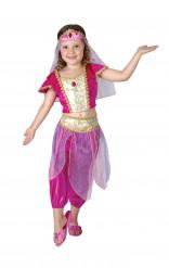 Disfarce bailarina oriental menina