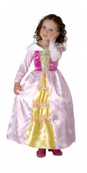Disfarce princesa menina
