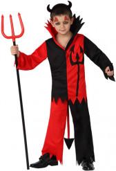 Disfarce diabo menino Halloween