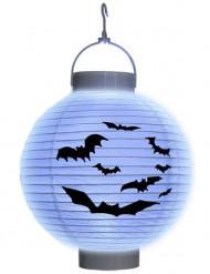 Lanterna LED morçego papel Halloween