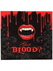 16 Gauradanapos de papel mordidela sangrenta