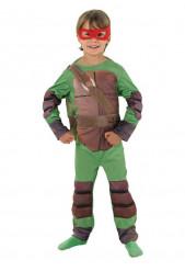 Disfarce Tartaruga Ninja™ musclado criança