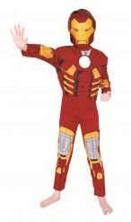 Disfarce Iron Man™ luxo Criança
