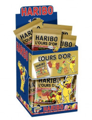 Mini saco de gomas ursos de ouro Haribo™