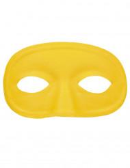 Máscara amarela adulto