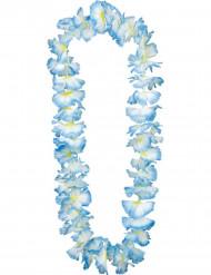 Colar havai azul